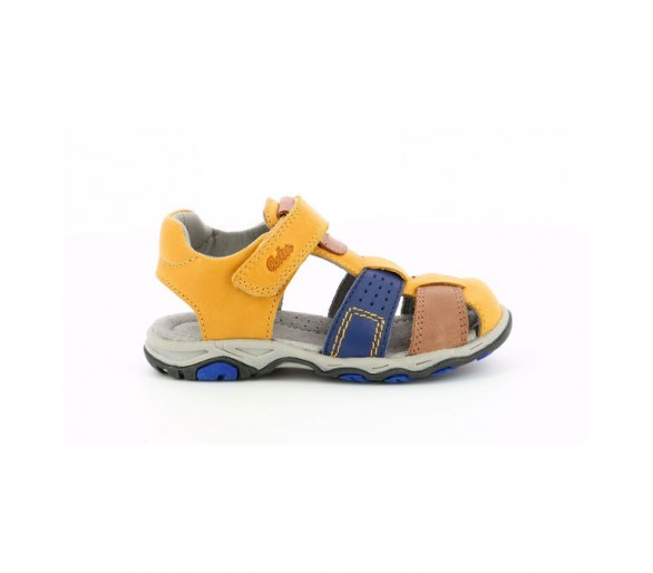 Sandales Cuir Bonite Jaune